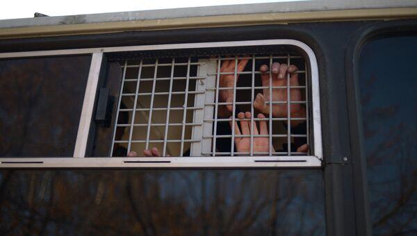 Операция правоохранительных органов по задержанию. Архивное фото