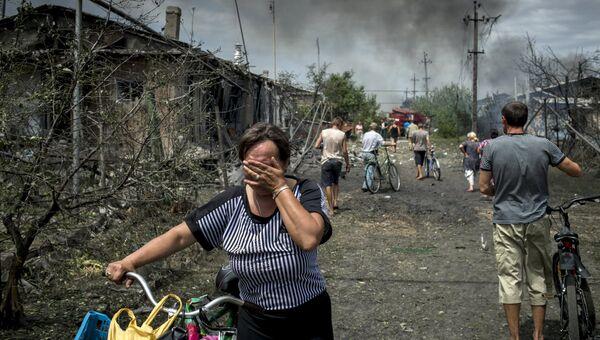 Ситуация в Луганской области. Архивное фото