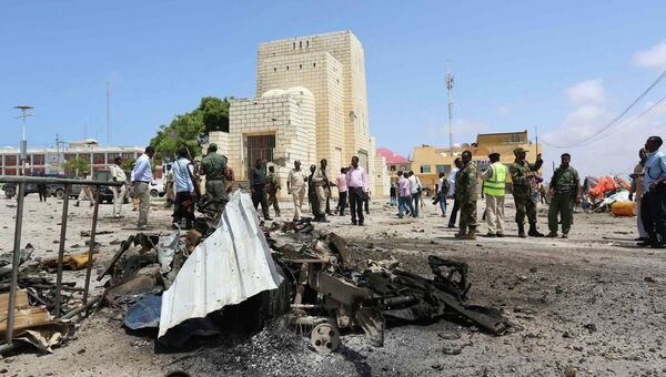 Взрыв у парламента в Сомали