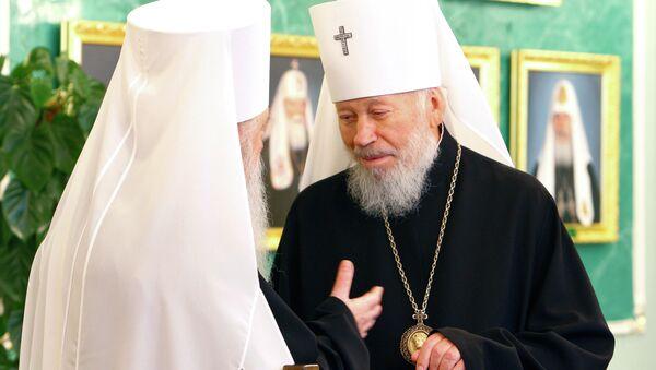 Митрополит Киевский и всея Украины Владимир. Архивное фото