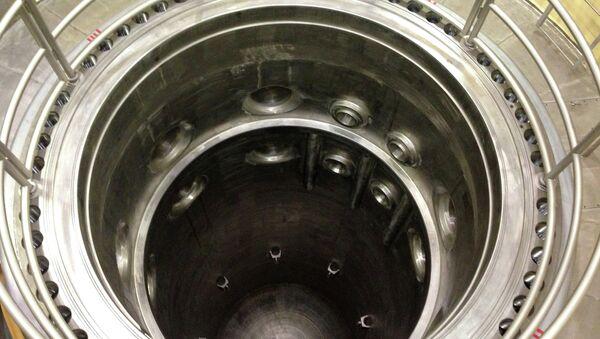 Реактор в учебном центре АЭС Пакш