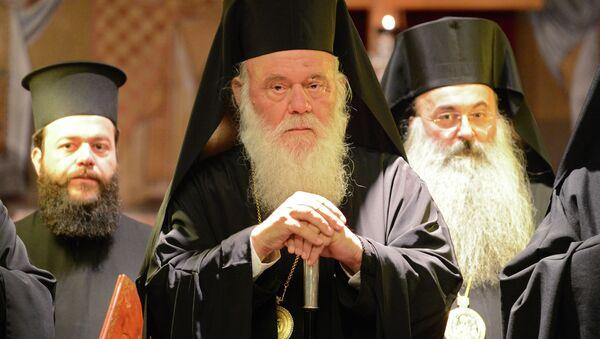 Визит Патриарха Кирилла в Грецию