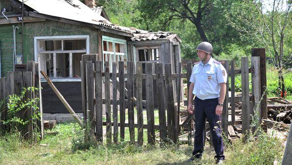 Сотрудник правоохранительных органов в Ростовской области. Архивное фото