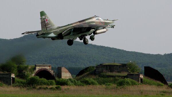 Штурмовик Су-25 СМ. Архивное фото