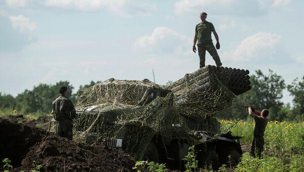 Украинские войска. Восточная Украина. Архивное фото