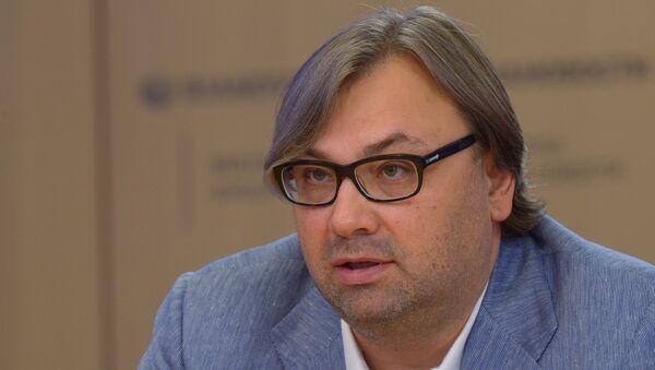 Тимофей Сергейцев философ, методолог, член Зиновьевского клуба МИА Россия сегодня. Архивное фото