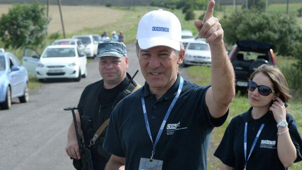 Миссия ОБСЕ на Украине. Архивное фото
