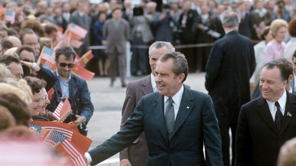 Визит Президента США Ричарда Никсона в СССР