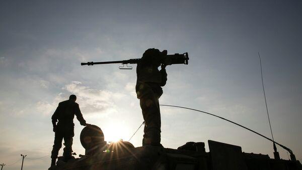 Израильские военные, вернувшиеся из Газы