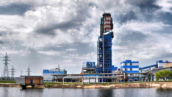 Завод Стирол в Горловке. Архивное фото