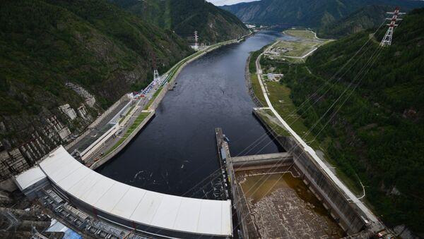 Саяно-Шушенская ГЭС. Архивное фото