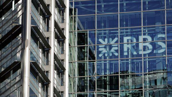 Здание штаб-квартиры Королевского банка Шотландии в Лондоне. Архивное фото