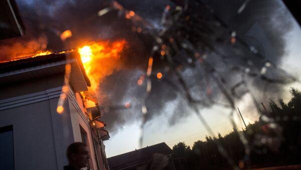 Ситуация в Луганске, архивное фото