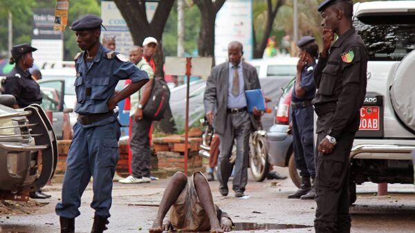 Гвинейские полицейские