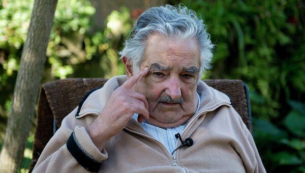 Президент Восточной Республики Уругвай Хосе Мухико