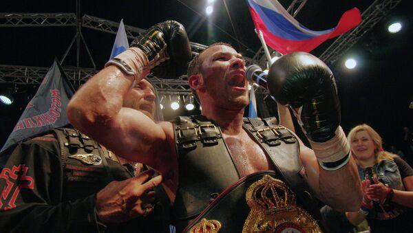 Боксерское шоу Бой в Севастополе