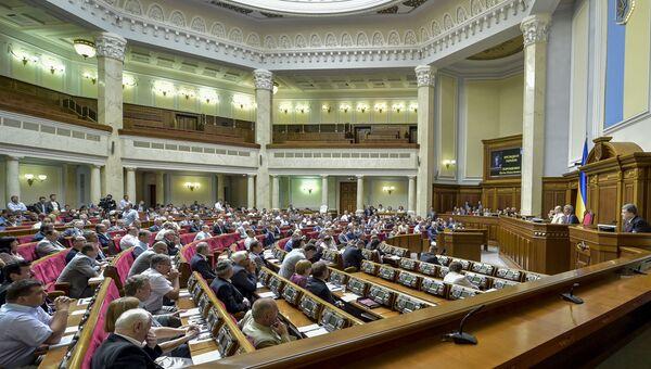 Внеочередное пленарное заседание Верховной Рады Украины. Архивное фото