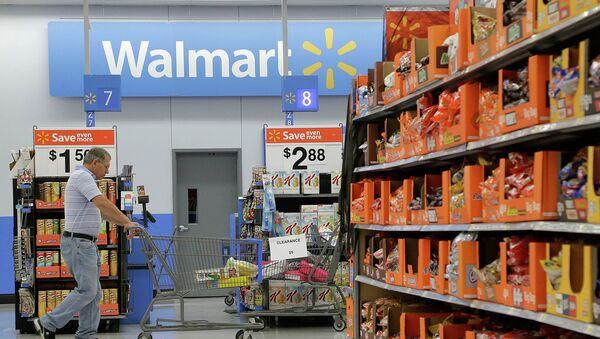 Магазин сети Walmart, архивное фото