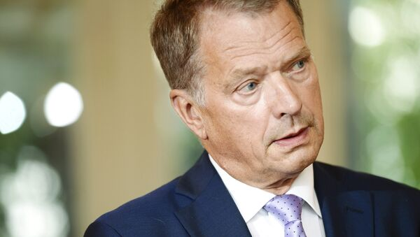 Президент Финляндии Саули Нийнистё