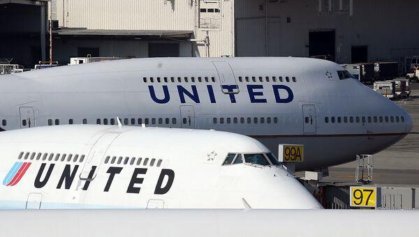 Самолеты авиакомпании United Airlines