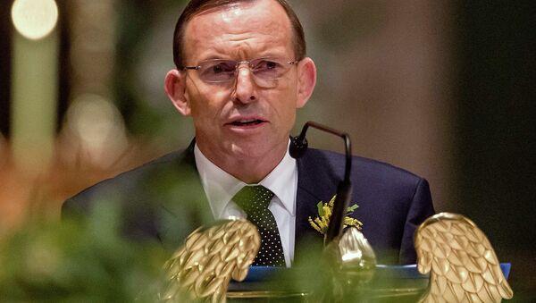 Премьер-министр Австралии Энтони Эбботт