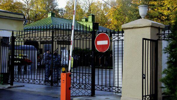 Вход на Ваганьковское кладбище в Москве. Архивное фото