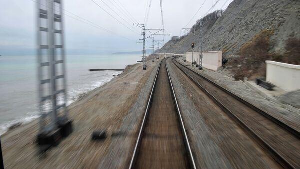 Железная дорога в Сочи. Архивное фото