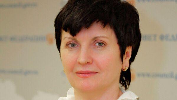 Председатель правления Фонда поддержки детей, находящихся в трудной жизненной ситуации, Марина Гордеева