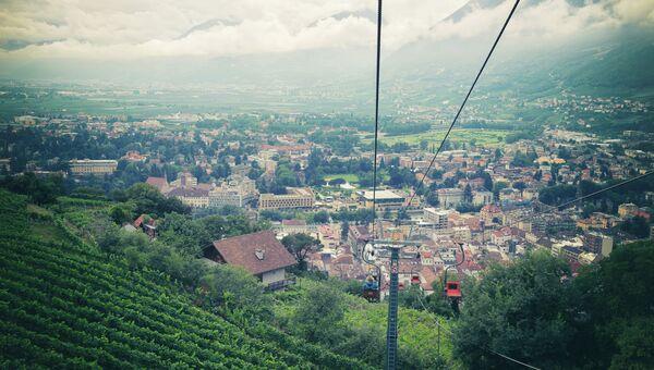 Вид Италии, архивное фото