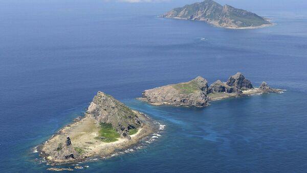 Острова Сенкаку в Восточно-Китайском море. Архивное фото