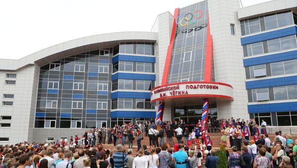 Виталий Мутко открыл новый корпус Центра спортивный ходьбы в Саранске