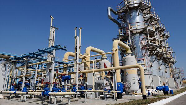 Отделение по переработке газа. Архивное фото