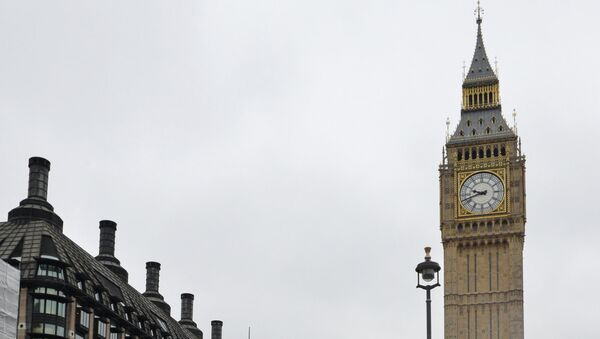 Лондонский полицейский. Архивное фото