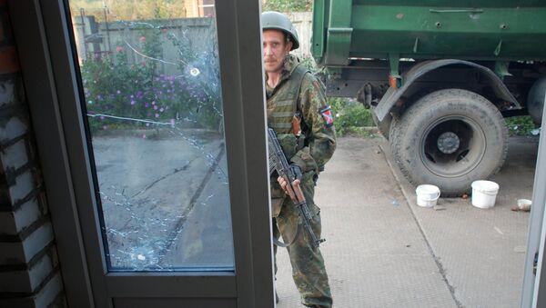 Ситуация в Иловайске Донецкой области. Архивное фото