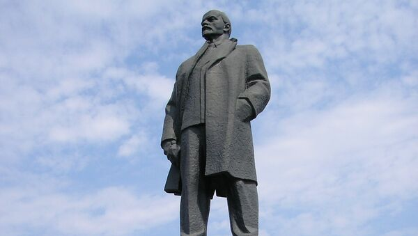 Памятник Владимиру Ленину. Архивное фото