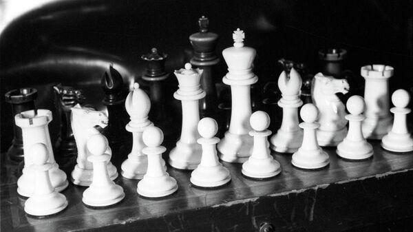 Шахматы, изготовленные в Лондоне. Архивное фото