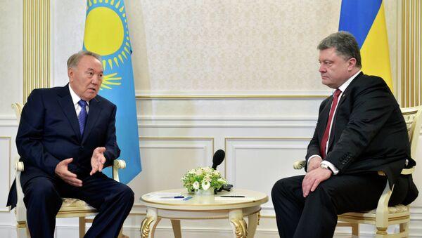 П.Порошенко принимает участие во встрече в формате Украина - ЕС - Евразийская тройка в Минске