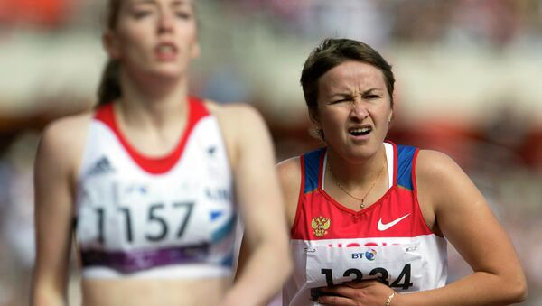 Российская спортсменка Светлана Сергеева