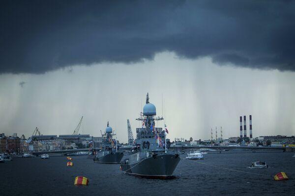 Празднование 150-летия Западного Военного округа в Санкт-Петербурге
