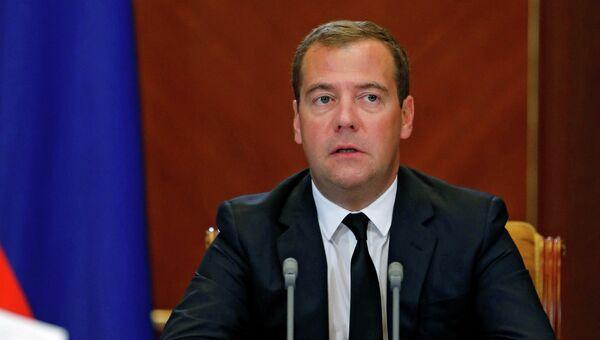Д.Медведев провел совещание в Горках. Архивное фото