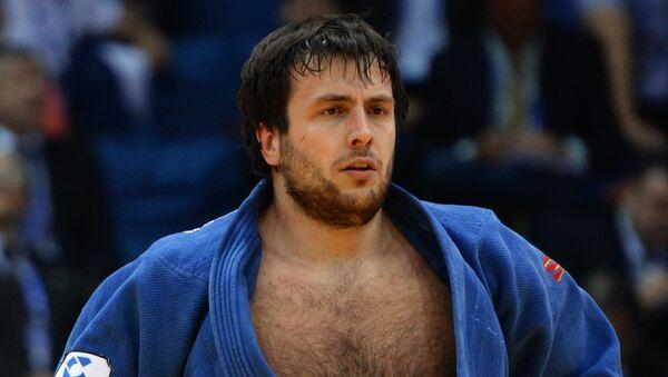 Ренат Саидов на чемпионате по дзюдо в Челябинске