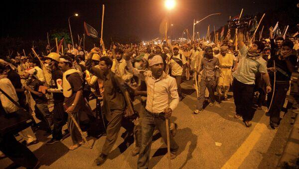 Акция протеста в Исламабаде
