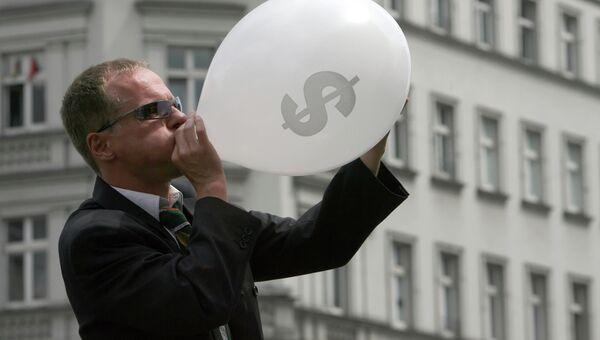 Уличное шоу в Берлине