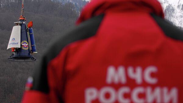Поисково-спасательные службы МЧС России. Архивное фото