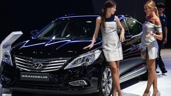 Автомобиль Hyundai Grandeur. Архивное фото
