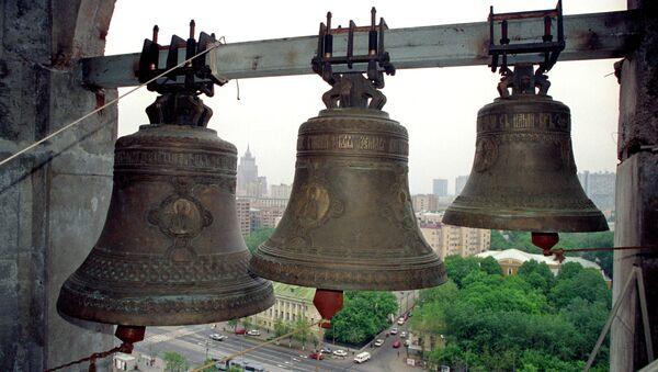 Малые колокола Храма Христа Спасителя. Архивное фото