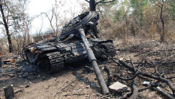Ситуация в Донецкой области. Архивное фото
