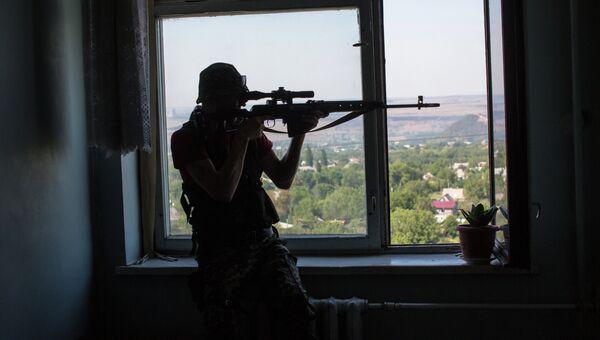 Бои в Донецкой области, архивное фото