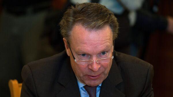 Встреча главы МИД РФ С.Лаврова с председателем Парламентской ассамблеи ОБСЕ И.Канервой