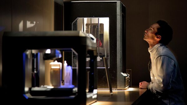 3D-принтер. Архивное фото